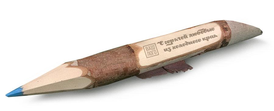 Карандаш деревянный  с под нанесение длина
